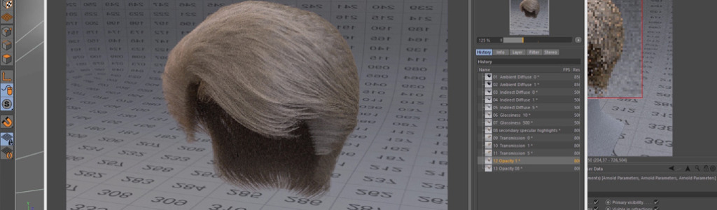Arnold Hair Shader
