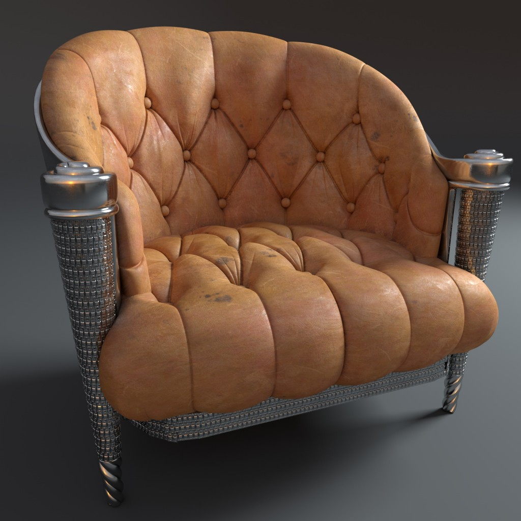 0301_Leather_French_Club_Chair