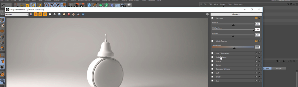 57. A Quick Introduction to  VRAYforC4D 3.4 (V-Ray 3.4 for Cinema 4d )