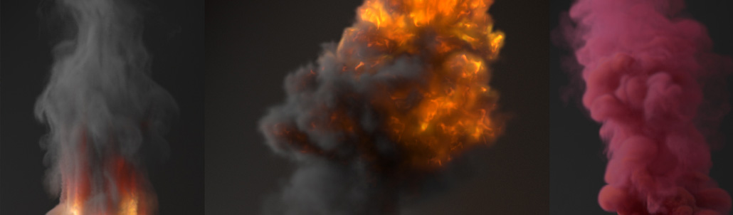 65. Rendering realistic Explosion and Smoke in V-Ray for 3ds Max (Volumetric Grid)