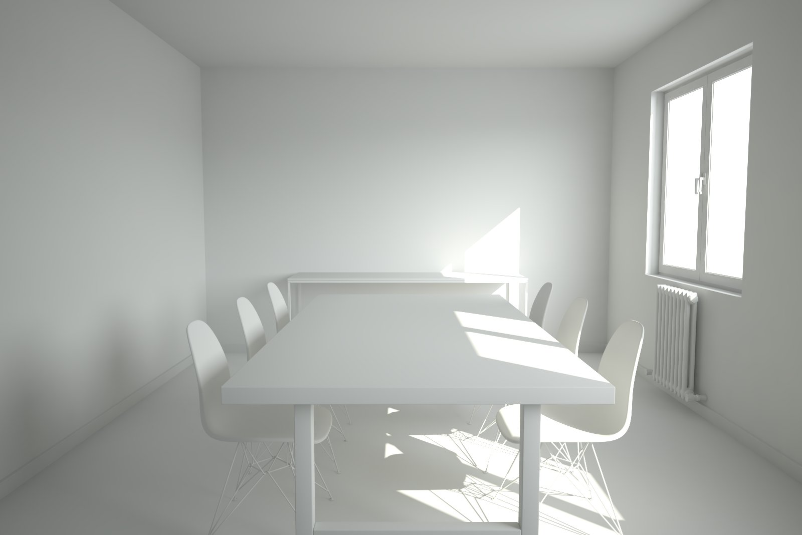 VRAYforC4D Interior Lighting