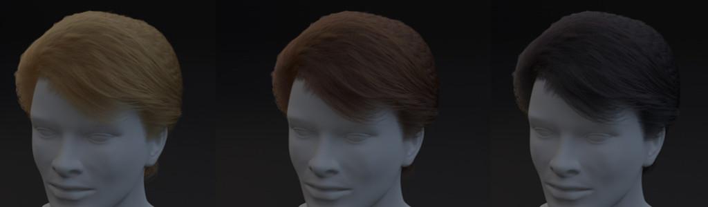 Standard Hair Shader