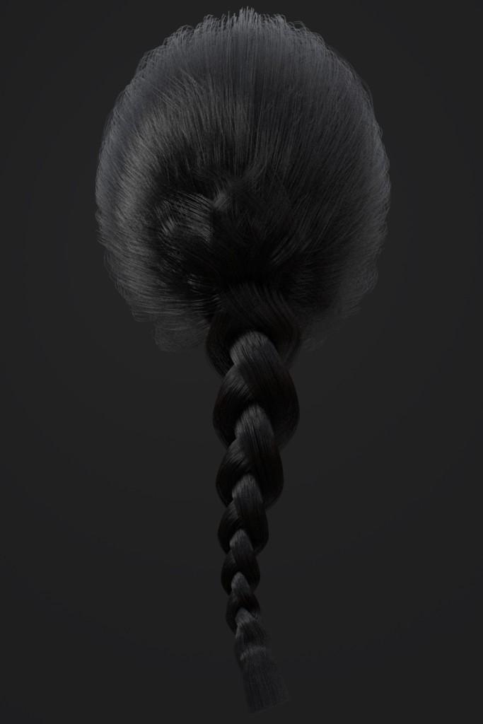 Standard Hair Auburn black