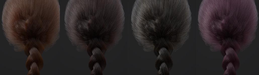 92 hair shader