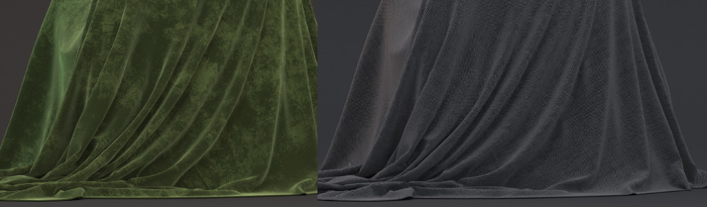 115  How to create Silk, Cotton, Velvet and other fabric shaders in