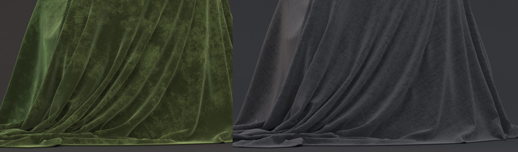 115.  How to create Silk, Cotton, Velvet and other fabric shaders in Arnold for Maya