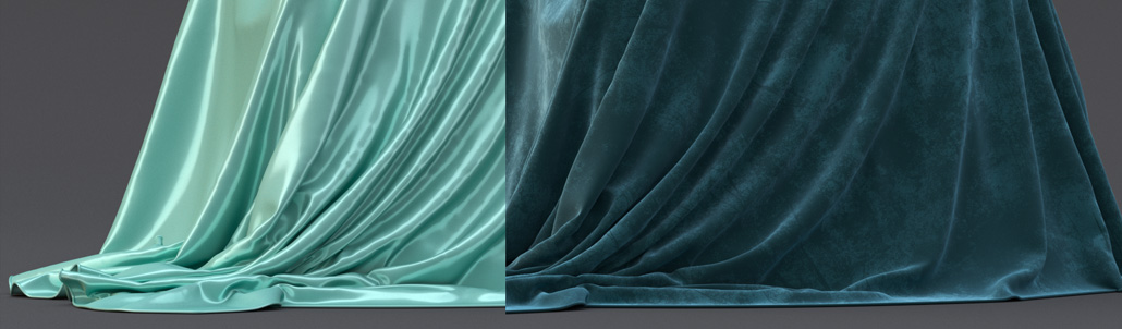 117. How to create realistic Silk, Cotton, Velvet and other fabric shaders in Corona for 3ds Max